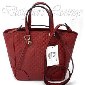 NEW GUCCI MicroGuccissima GG Bree Crossbody Bag